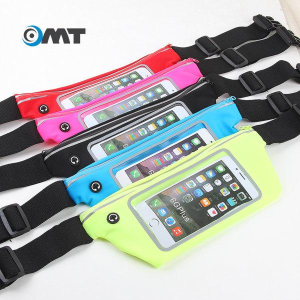 OMT 스마트폰 힙색 허리쌕 가방 힙쌕 암밴드 OSA-03 BK 상품이미지