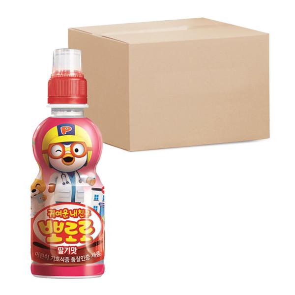 뽀로로 딸기 음료수 235ml PET 총24개 상품이미지