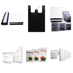 비닐모음  마트봉투 평판 배접 쓰레기 롤백 지퍼백