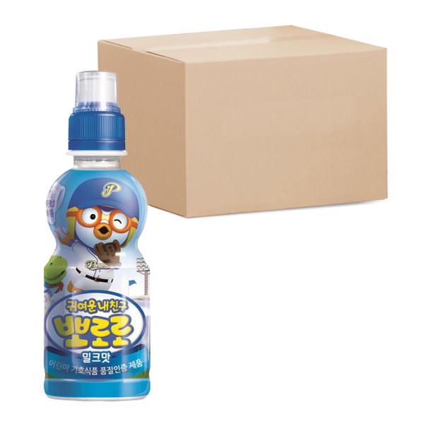 뽀로로 밀크 음료수 235ml PET 총24개 상품이미지