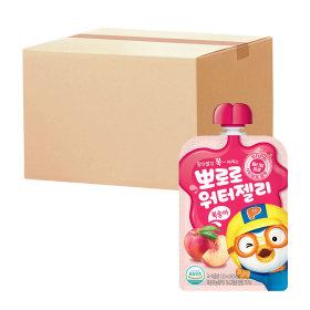 뽀로로 워터젤리 복숭아 120ml(파우치)총20개