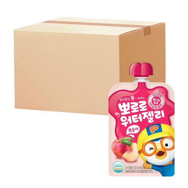뽀로로 워터젤리 복숭아 120ml(파우치)총20개 상품이미지