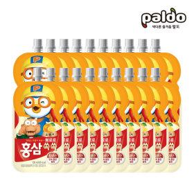 뽀로로홍삼쏙쏙 오렌지(파우치) 100ml 총20개(2BOX)