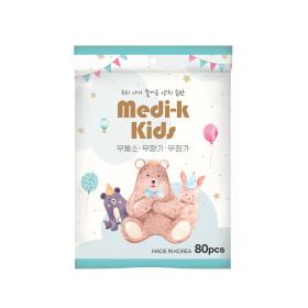 Medi-k Kids 유아 치실  메디케이 80p 국내생산