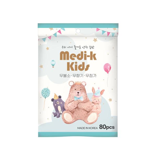 Medi-k Kids 유아 치실  메디케이 80p 국내생산 상품이미지