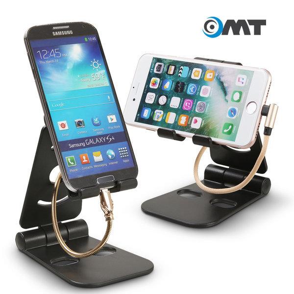 OMT 3단 접이식 스마트폰 휴대폰 거치대 OSA-300 상품이미지