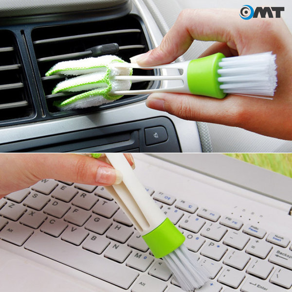 OMT 차량용 틈새 청소브러쉬 청소솔 청소용품 OCA-346 상품이미지