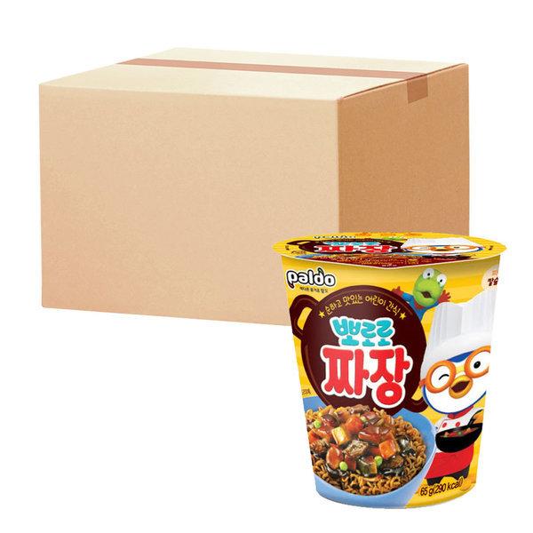 뽀로로짜장 컵 65g 총12개(2BOX) 상품이미지