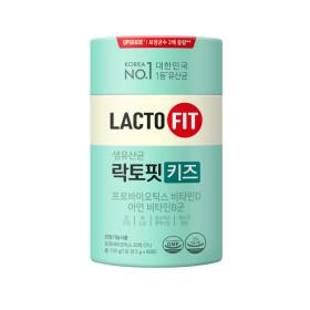 락토핏 생유산균 키즈 60포 2통(120일분)