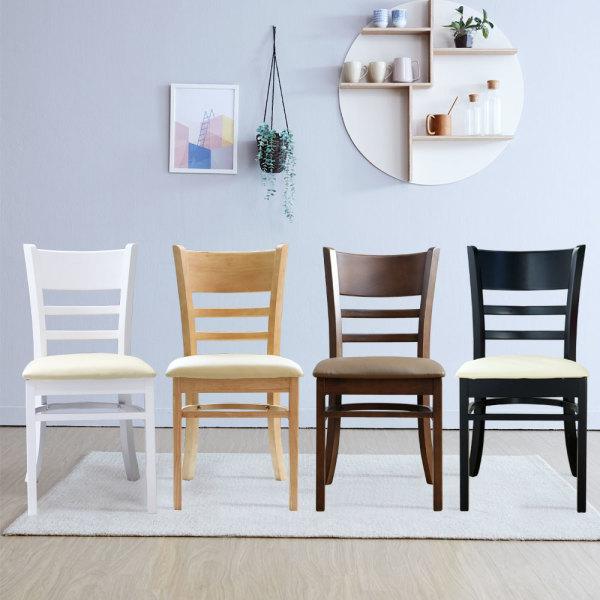 K 의자 1+1 /식탁의자/원목의자/인테리어의자/카페의자 상품이미지