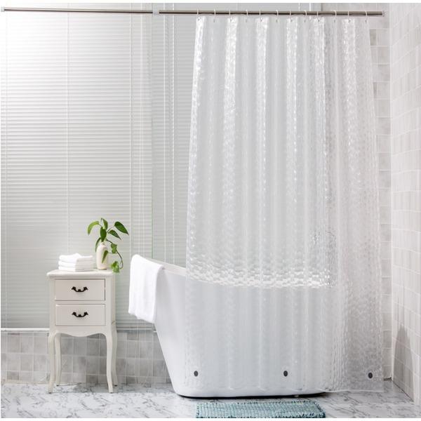 3D 워터큐브 샤워커튼 욕실커튼 반투명 비닐커튼 커튼 상품이미지