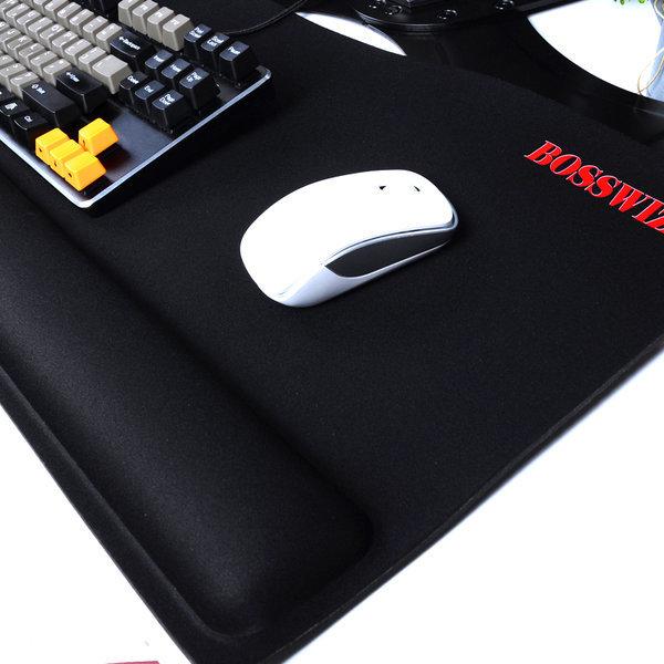 BOSSWIZ JPD-S10 손목보호 쿠션 장패드 마우스패드 상품이미지