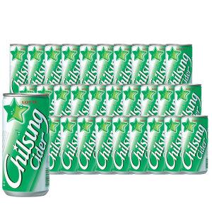 [칠성사이다]칠성 사이다 210ml x 30캔 박스 포장 /롯데칠성몰 공식