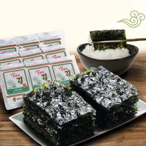 [소문난삼부자김]소문난삼부자 오부자 도시락김5g 72봉/본사직송 실속
