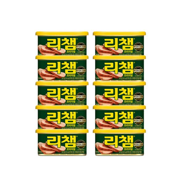 리챔 오리지널 200g 10캔 상품이미지