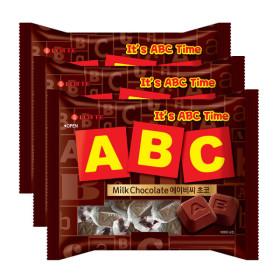 ABC초콜릿 200g X 3개