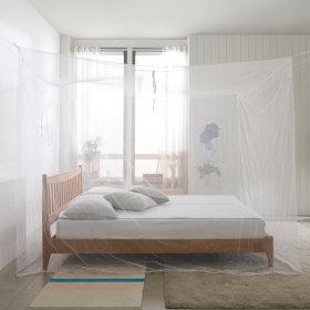 사각 모기장 일반-대형/ 방충망 침대 캐노피 원터치