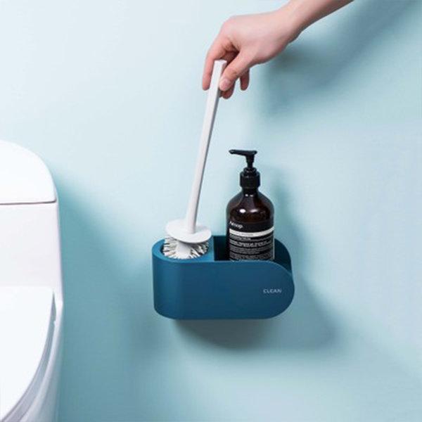 슈와츠코리아 욕실 화장실 청소 실리콘 변기솔 브러쉬 상품이미지
