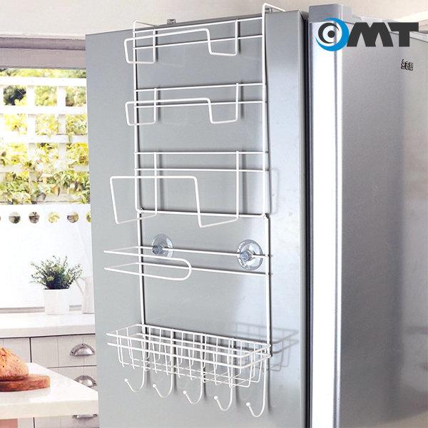OMT 냉장고 사이드 수납 걸이 랙 주방 선반 OKA-MRACK 상품이미지