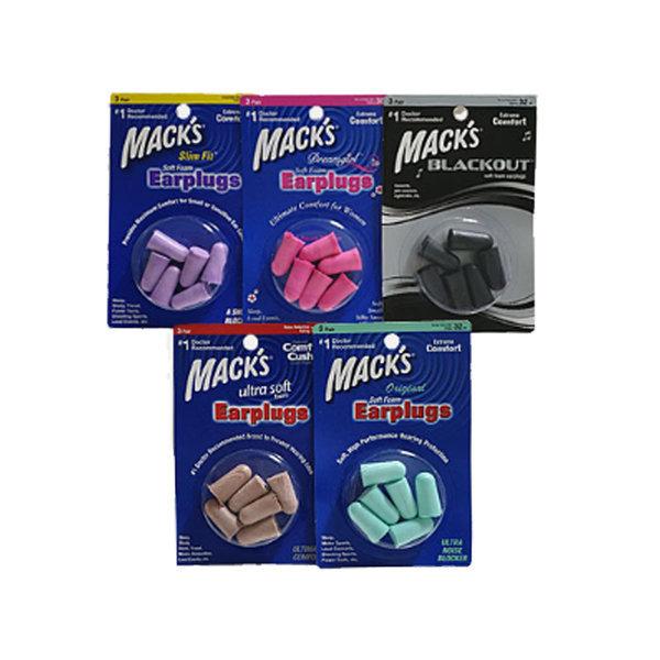 맥스귀마개 소음방지  맥스 폼 귀마개(3쌍) 1개 상품이미지
