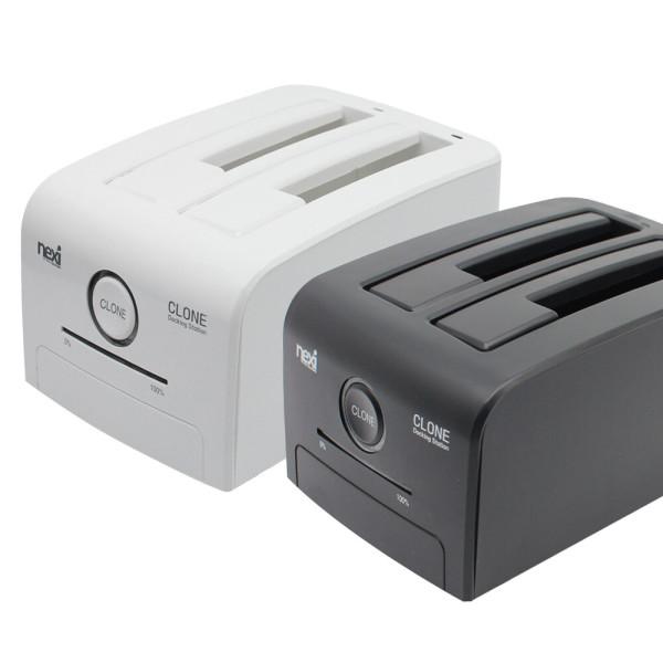 USB3.0 SSD HDD 하드 복제 /도킹 스테이션 블랙 NX775 상품이미지