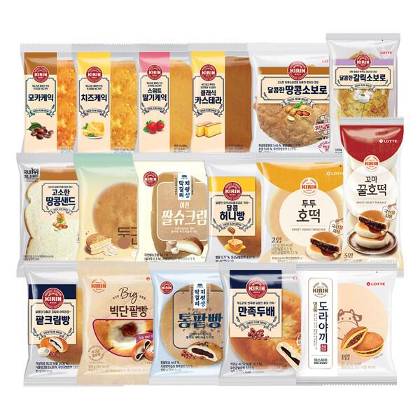 (현대Hmall)롯데제과인기 빵 10종 상품이미지