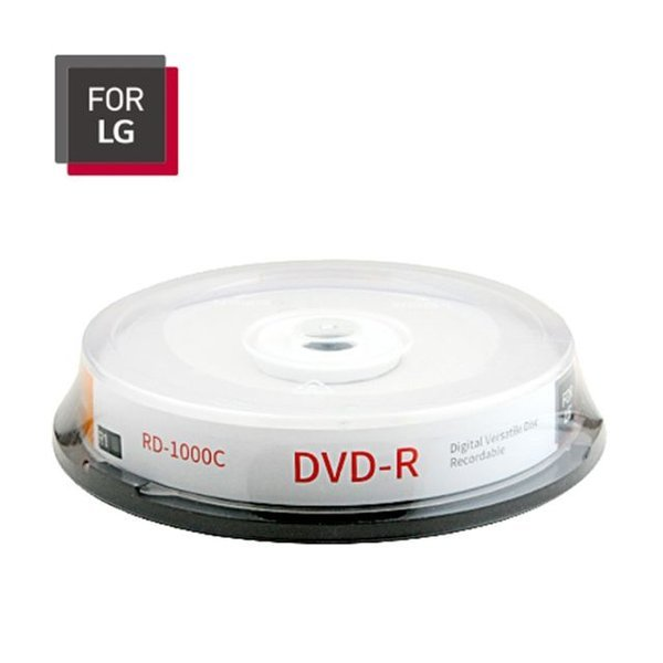 ForLG DVD-R 4.7GB / 120MIN 16배속 10장 상품이미지