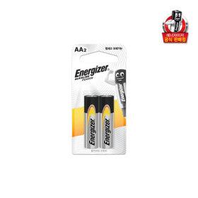에너자이저 건전지 알카라인 AA 2입 x 10개/배터리/