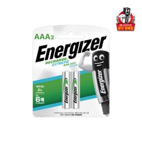 에너자이저 충전지 AAA 2입(800mAh) /건전지