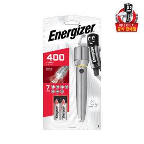 에너자이저 비전 HD메탈랜턴 2AA /손전등/라이트