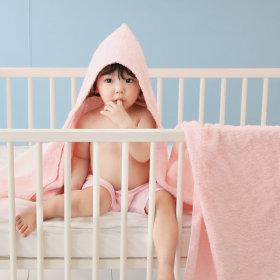 메이슨 후드타올 울트라소프트 아기목욕가운 1장