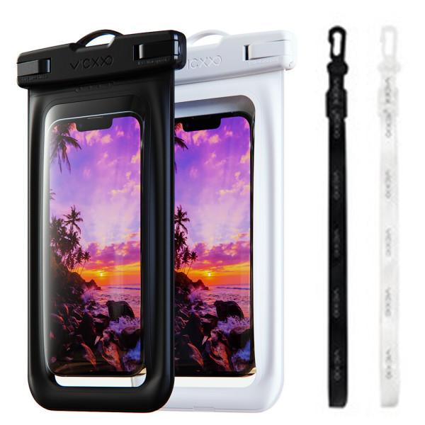 1+1 IPX-8등급 에어 핸드폰 방수팩 P2 블랙+화이트 상품이미지