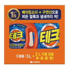 LG)테크액체세제창립기획(드럼용)3L+2L