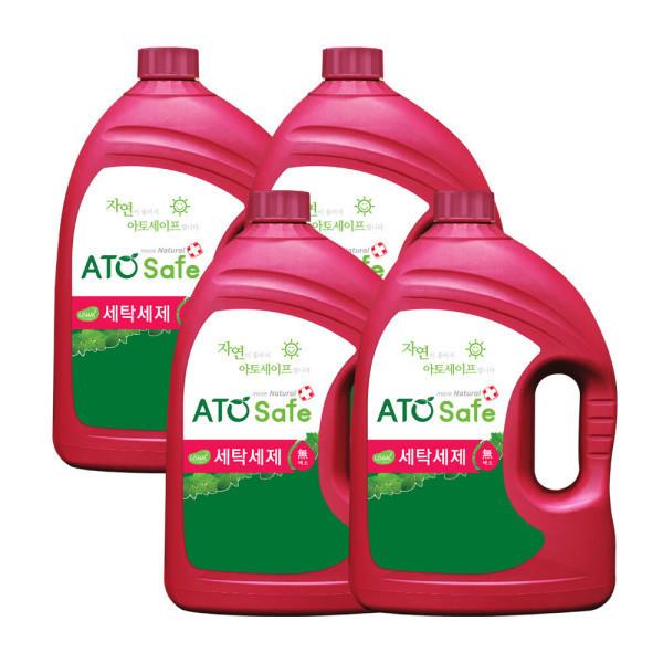 아토세이프 세탁세제 (3.1L 4개)/중성세제/액체세제 상품이미지