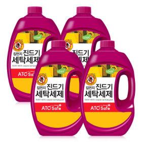 진드기세제 세탁 액체 드럼/일반겸용 2.5L X 4개