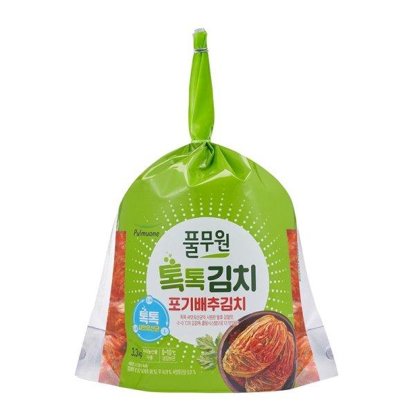 풀무원_톡톡_포기김치_3.3kg 상품이미지