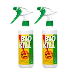 비오킬 500ml X 2개 바퀴벌레 개미 진드기 살충제