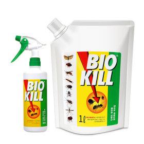 비오킬 1L+500ml 바퀴벌레 개미 진드기 살충제