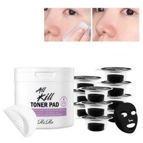 토너 패드+블랙 DIY 마스크 10매
