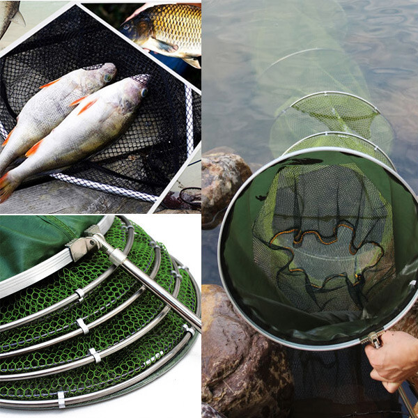 실리콘 어망 통발 물고기 그물망 살림망 낚시용품 상품이미지
