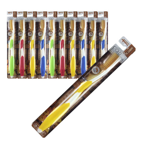 오죤 금 미세모 칫솔 (1개) 골드 미세모칫솔 색상랜덤 상품이미지