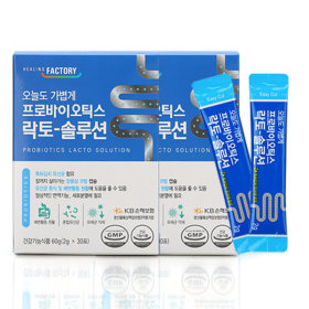 프로바이오틱스 락토 솔루션 유산균 30포x2각 2개월분