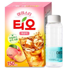 아이스티 복숭아맛 150T 에이드 +애플18T 증정
