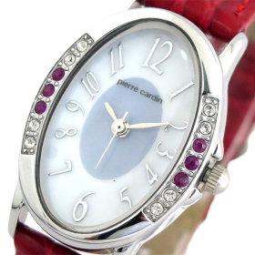 512917fe914 피에르가르뎅 여자 손목시계 PC-792 솔라 화이트 쉘