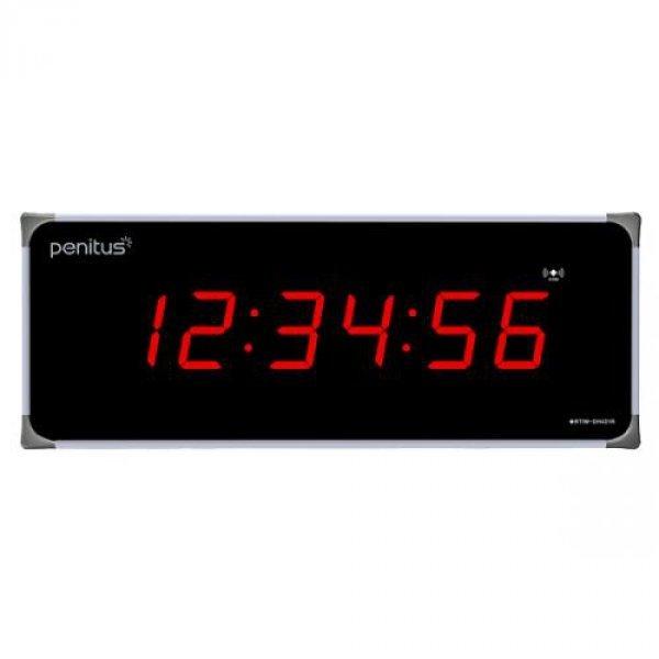 페니투스 DH431R 대형 FM수신 인터벌타이머겸용 전자 디지털벽시계-코맥스 무료배송 상품이미지