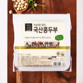 청년농장 무농약국산콩두부 300G