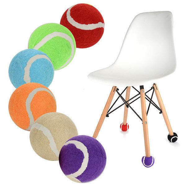 예쁜7칼라 층간소음방지 의자다리커버 테니스공발싸개 상품이미지