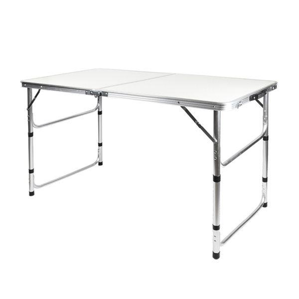 4단 높이조절 캠핑 접이식테이블 HCT-001(화이트) 상품이미지