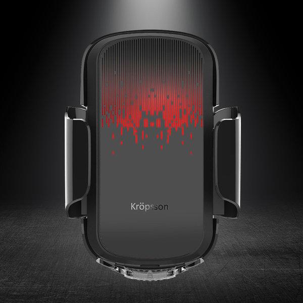 크랩슨 CTX-S10 차량용핸드폰거치대 자동 무선충전기 상품이미지