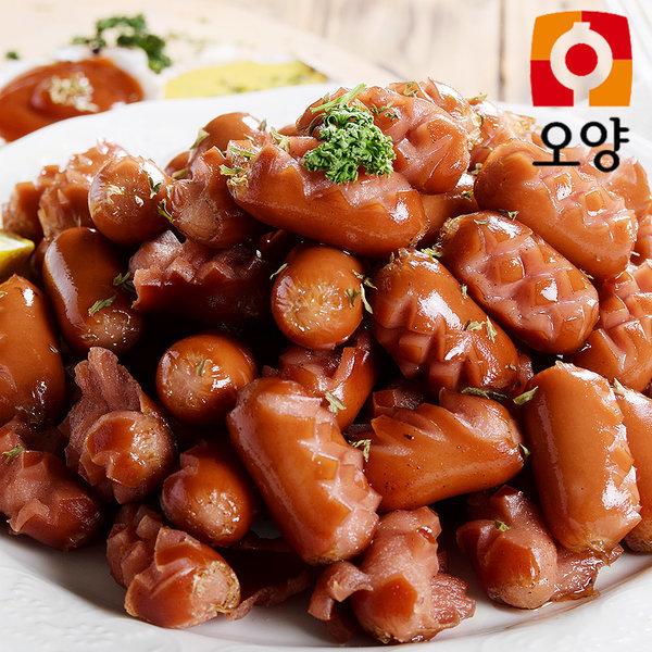 소시지 요리가 즐거운 칼집비엔나 1kg+1kg 대용량특가 상품이미지